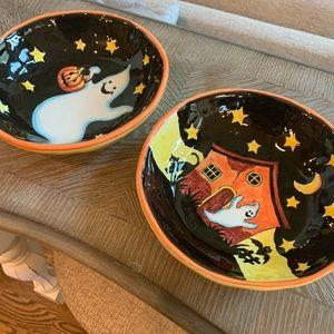 Ceramic Halloween Bowls 👻🎃